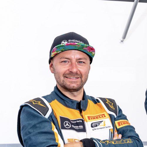 AMG Rennfahrer Dominik Schraml